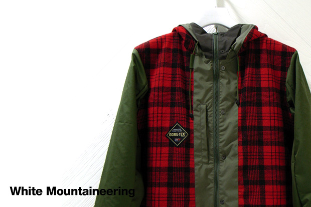 White Mountaineering Gore-Tex Buffalo Plaid Jacket