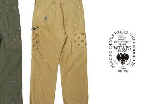 WTAPS Duck Hunting Union Pants