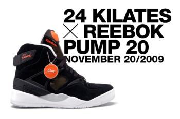 24 KILATES x Reebok PUMP 20