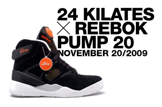 24 KILATES x Reebok PUMP 20