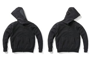 "A Bathing Ape ""Black Friday"" Full-Zip Shark Hoodie"