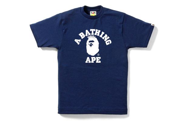 """A Bathing Ape """"Go Go"""" New York T-Shirt"""
