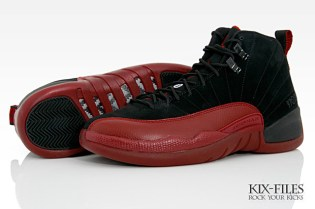 "Air Jordan XII (12) Retro Black/Red ""Flu Game"""