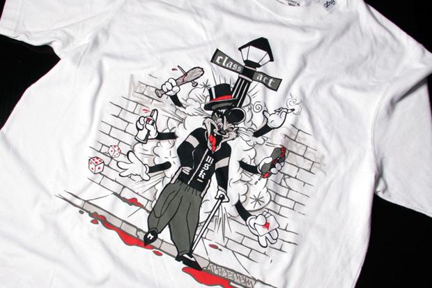 "Augor & Pose x LRG ""Artist Series"" T-Shirts"