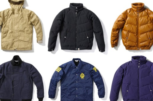 A Bathing Ape 2009 Fall/Winter Outerwear New Release
