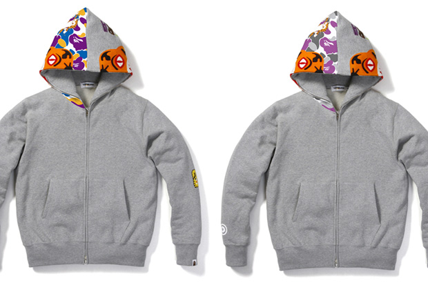 A Bathing Ape Shop Color Tiger Hoodie New York / Los Angeles