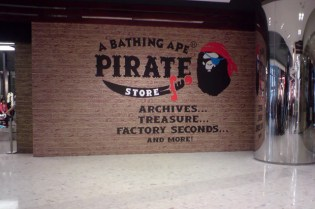 A Bathing Ape Pirate Store Hong Kong Preview