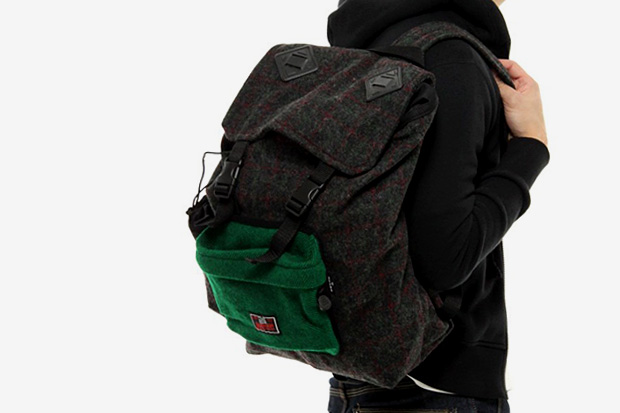 BEAMS x Johnson Woolen Mills Backpack