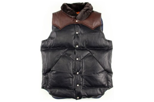 BEAMS x Rocky Mountain Featherbed 20th Anniversary Vest