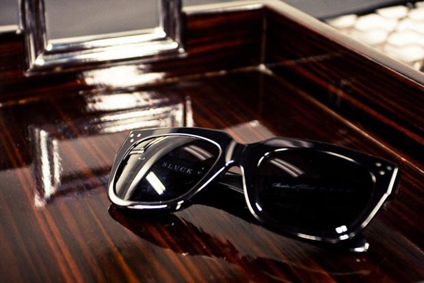 "Black Scale ""Shades of Black"" Sunglasses"