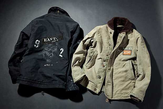 Blackflag x OLD JOE Custom Jackets