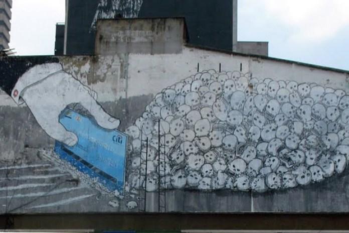 Blu Installation in Bogota