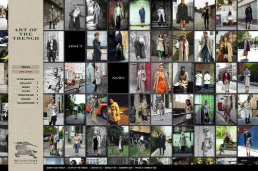 "Burberry ""Art of the Trench"""