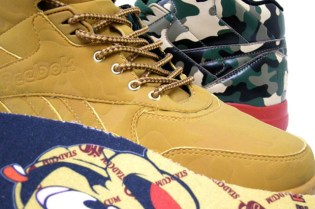 "CHAPTER x STADIUM x Reebok Reverse Jam ""Camouflage"" Collection"
