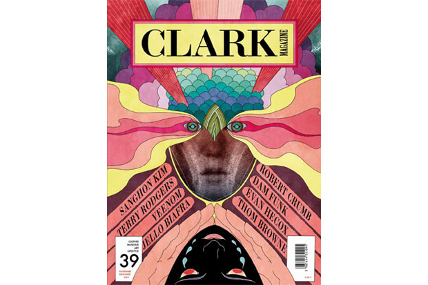 Clark Magazine Issue No. 39 featuring Sanghon Kim