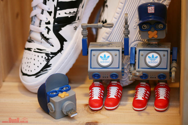 CMD x DJ Tommy x adidas Originals Robot USB Toy