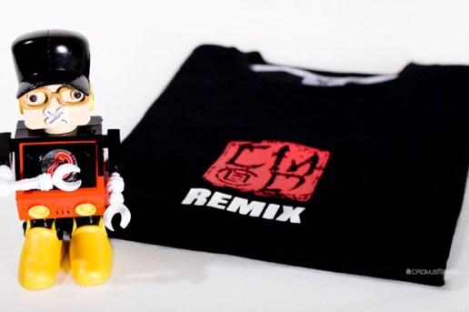 DJ Tommy x CMD x Remix USB Robot & Tee Box Set