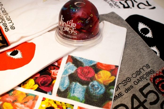 COMME des GARCONS Jingle Flowers Collection