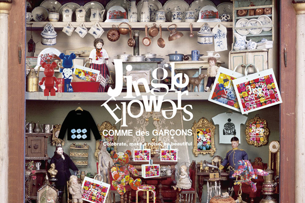 """COMME des GARCONS 2009 Holiday """"Jingle Flowers"""" Preview"""