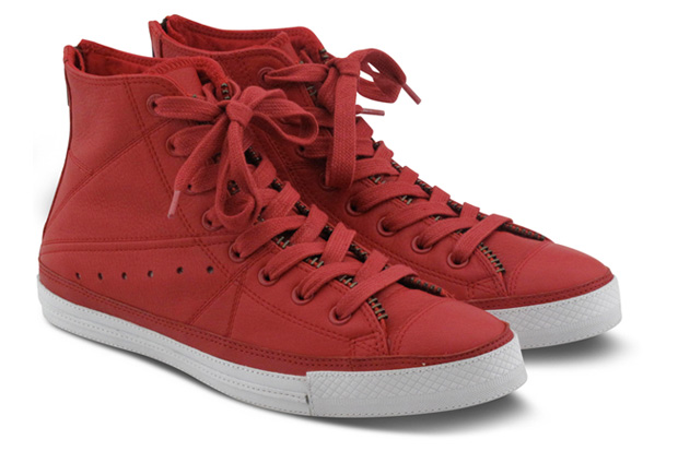 Converse (PRODUCT)RED Leather Jacket Chuck Taylor