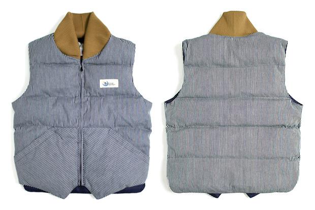 Crescent Down Works Hickory Stripe Vest