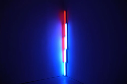 "Dan Flavin ""Series and Progressions"" Exhibition NYC"