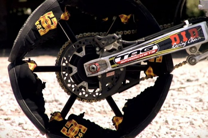 DC Shoes: Travis Pastrana Shoe Bike