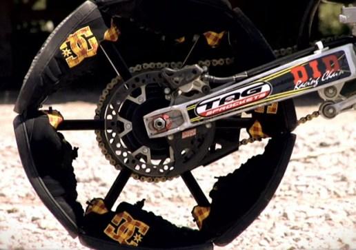 DC Shoes: Travis Pastrana Shoe Bike