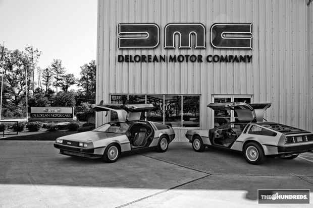 DeLorean Motor Co. x The Hundreds Preview