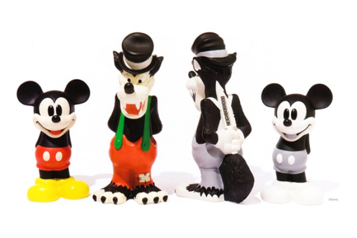 Disney x NEIGHBORHOOD 15th Anniversary Figures
