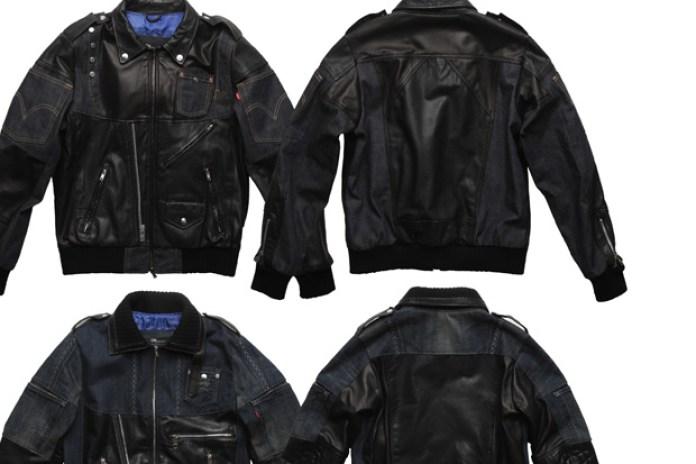 Dr. Romanelli x CLOT x Levi's Leather Denim Jackets