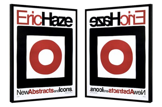 Eric Haze New Abstracts and Icons Limited Edition Poster