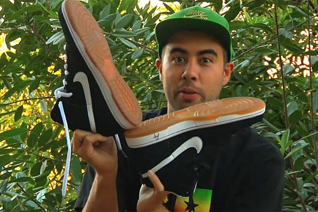Eric Koston x Nike SB Black/Gum Dunk Hi - A Closer Look