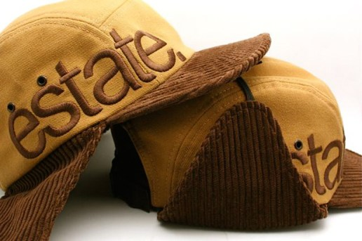 estate LA Corduroy Flap 5 Panel Cap
