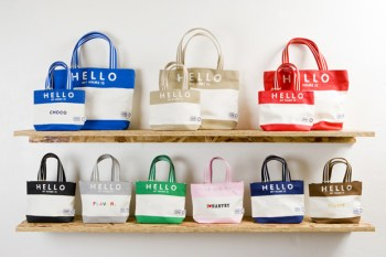 "FLAVOR x Porter ""Hello My Name Is"" Tote Bag Collection"