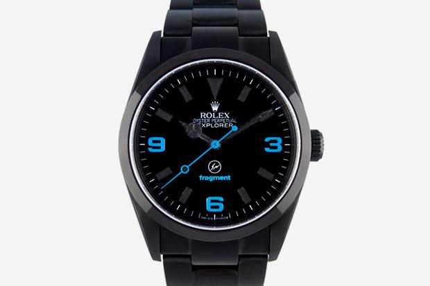 fragment design x Bamford Watch Department x Rolex Oyster Perpetual Explorer