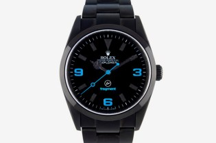 fragment design x Bamford Watch Department x Rolex Oyster Perpetual Explorer