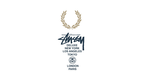 Fred Perry x Stussy Deluxe 2010 Blank Canvas Preview