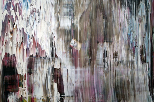 "Gerhard Richter ""Abstract Paintings"" Exhibition"