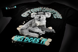 """SURU x Get Busy Committee """"Uzi Does It"""" T-Shirt & Release Party"""