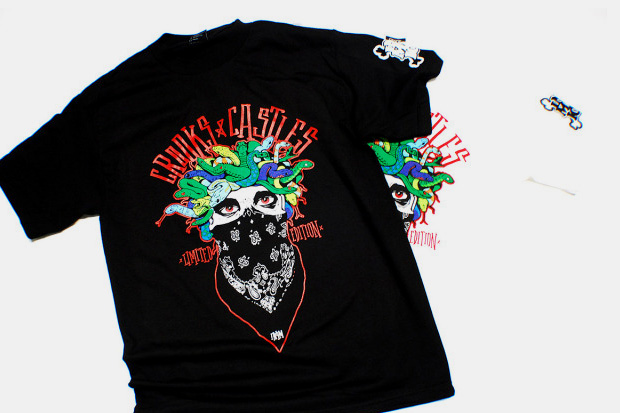 In4mation x Crooks & Castles Medusa T-Shirt