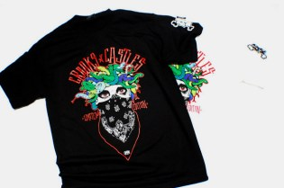 In4mation x Crooks & Castles Medusa T-Shirt