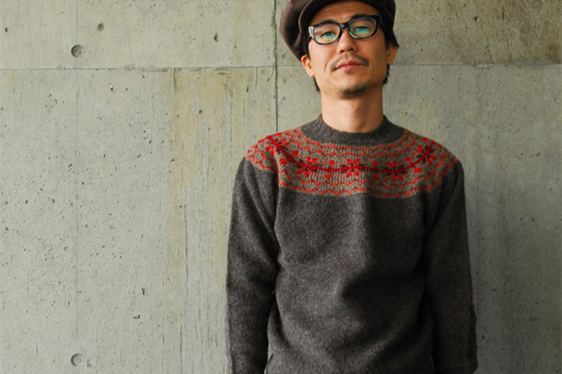 INVERALLAN Nordic Knit Sweater