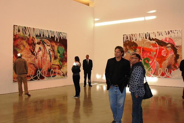 """Jeff Koons """"New Paintings"""" Exhibition Recap"""