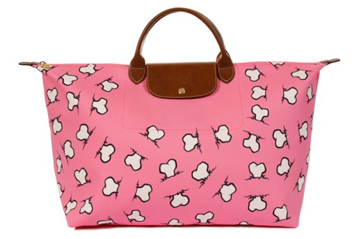 Jeremy Scott for Longchamp Bone Print Bag