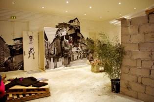 """JR x BKRW """"La Casa Amarela"""" Exhibition"""