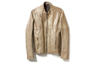 JULIUS Pearl Leather Jacket