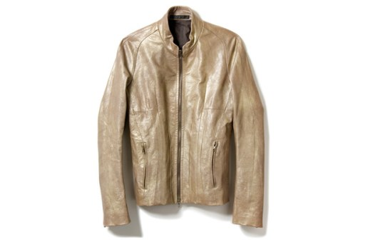 JULIUS Pearl Leather Jacket