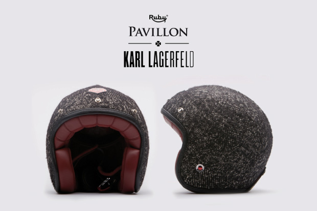 Karl Lagerfeld x Les Ateliers Ruby Helmet Collection Preview