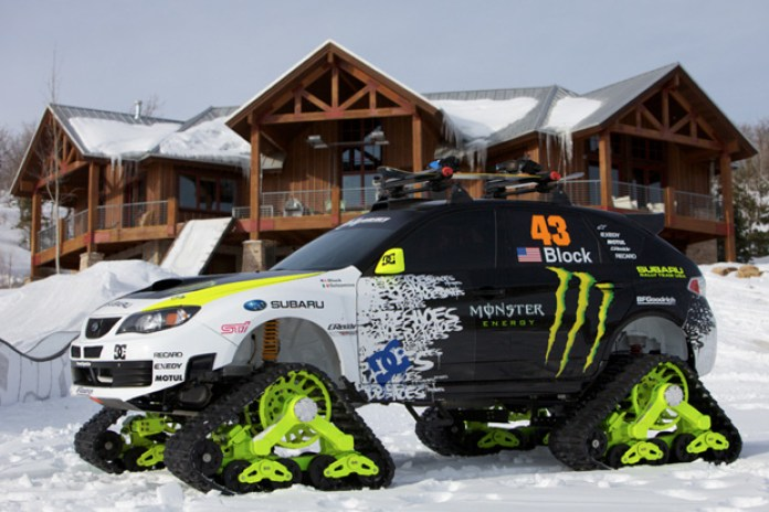 Ken Block's TRAX Subaru WRX STi